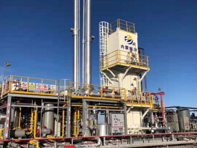 Inner Mongolia  LNG project in skid-mounted package